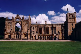 West front of Sherwood forest newstead abbey
