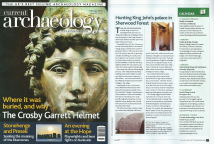 Sherwood Forest Archaeology Project in Current Archaeology magazine