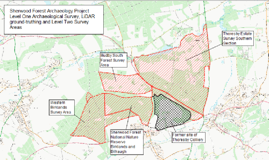 The Sherwood Forest National Nature Reserve Archaeological Survey.