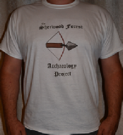 Sherwood Forest Archaeology Project t-shirt