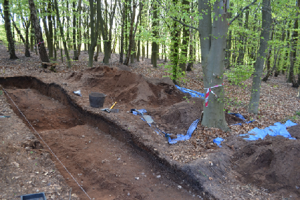 2013 Excavations at Thynghowe Sherwood Forest