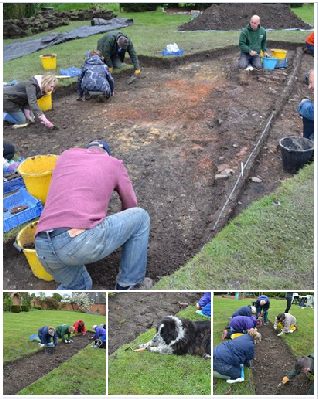 Community Archaeology Leciestershire Mercian Archaeological Services Ticknall