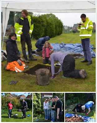 Community Archaeology Derbyshire Mercian Archaeological Services Hilton