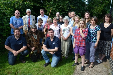 Robin Hood Village Archaeology Sherwood Forest launch event
